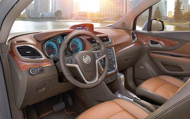 2015 Buick Anthem Interior