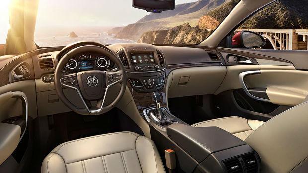 2015 Buick Regal GS Interior