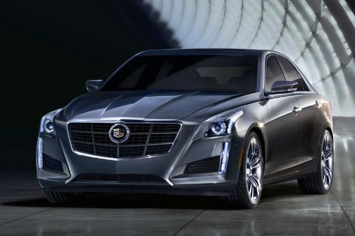 2015 Cadillac ATS Black