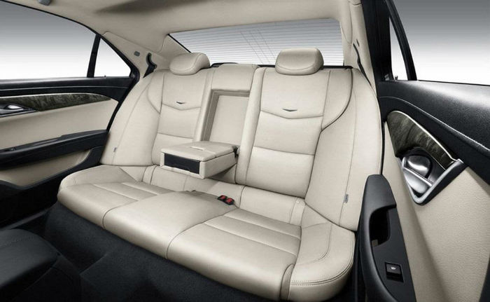 2015 Cadillac ATS-L Seats