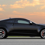 2015 Cadillac CTS Coupe Black