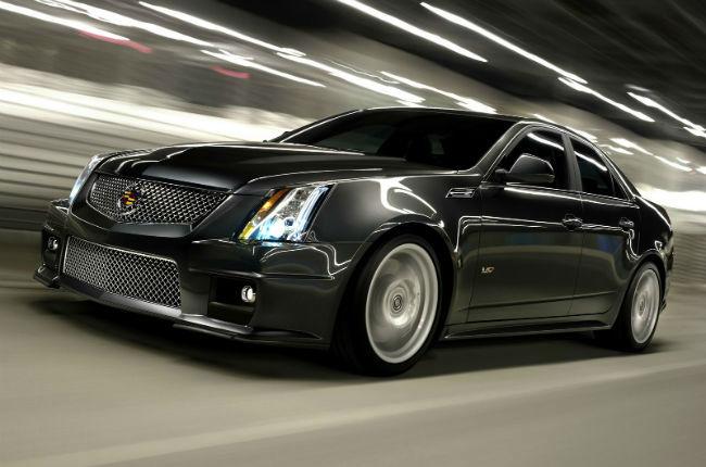 2015 Cadillac CTS V Sedan Black