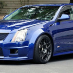 2015 Cadillac CTS V Wagon Blue