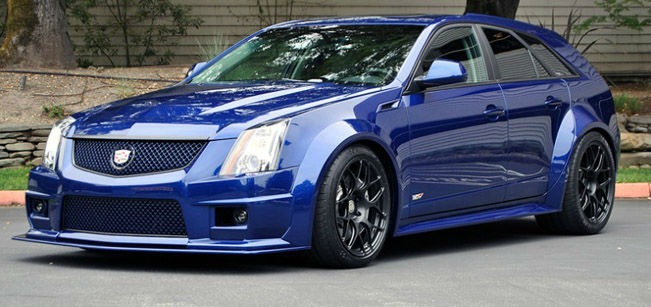 2015 cadillac cts v wagon blue top auto magazine. Black Bedroom Furniture Sets. Home Design Ideas