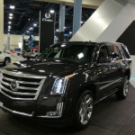 2015 Cadillac Escalade Black