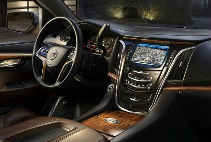 2015 Cadillac Escalade Ext Interior Top Auto Magazine