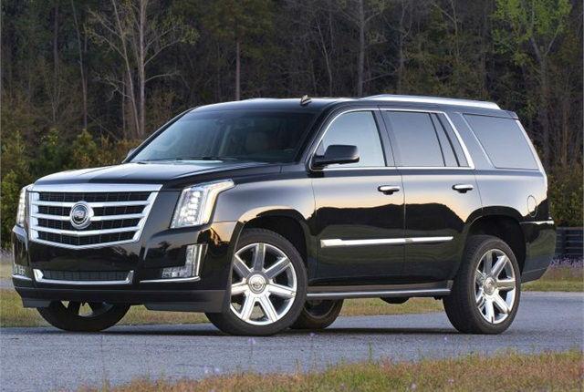2015 Cadillac Escalade Luxury Black