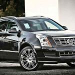 2015 Cadillac SRX Black