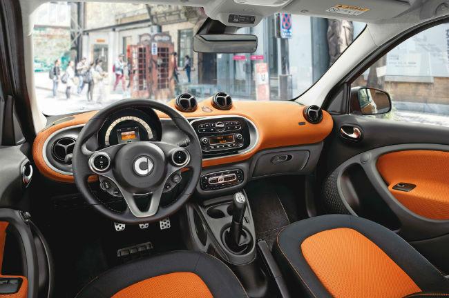 2016 smart car interior top auto magazine. Black Bedroom Furniture Sets. Home Design Ideas