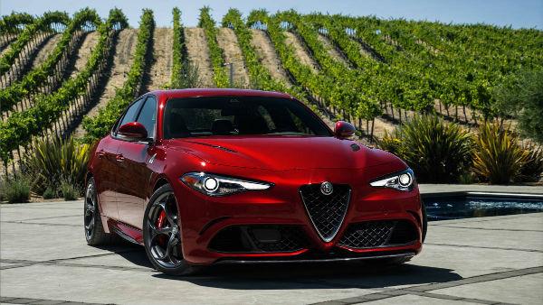 2017 Alfa Romeo Giulia Quadrifoglio Model