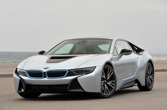 2017 BMW i8 Range