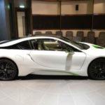 2017 BMW i8 White