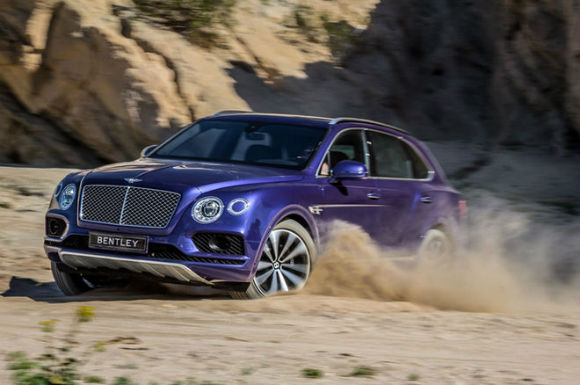 2017 Bentley Bentayga Mpg