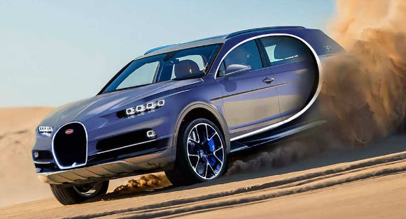 2017 Bugatti SUV Coupe