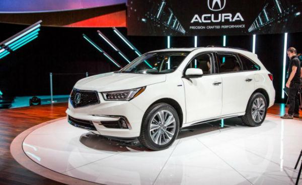 2018 Acura MDX Hybrid