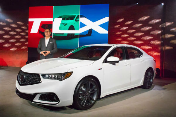 2018 Acura TLX Hybrid