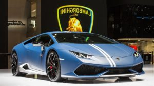2018 Lamborghini Huracan Performante Blue