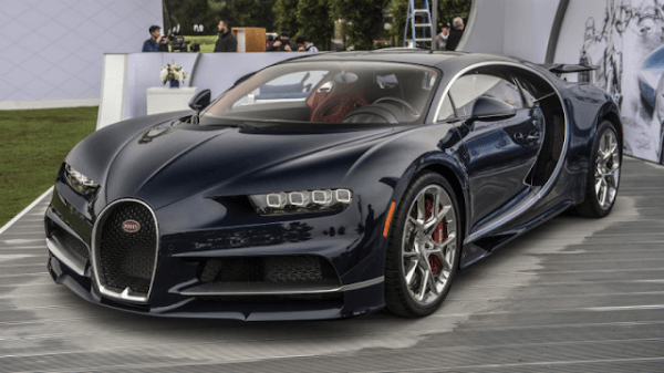 2019 Bugatti Chiron Black Top Auto Magazine