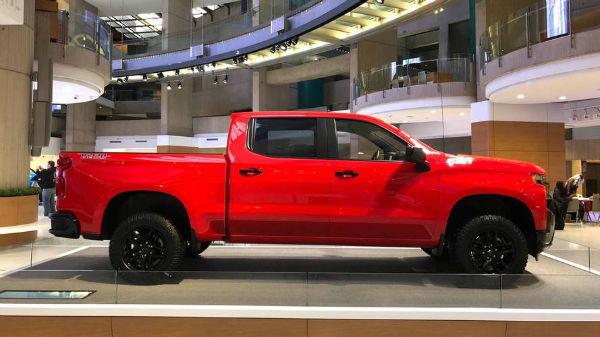 2019 Chevrolet Silverado Trail Boss