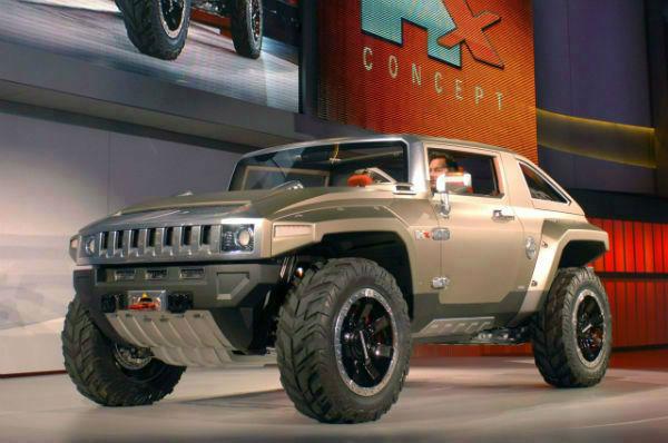2019 Hummer H4 Concept