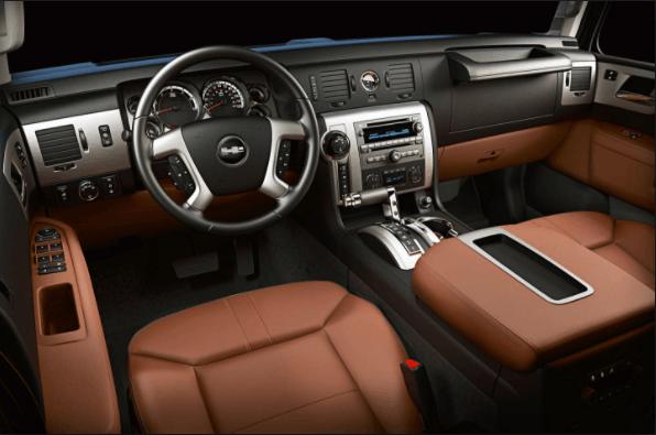 Hummer H3 2019 Interior