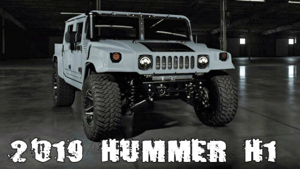 New Hummer H1 2019