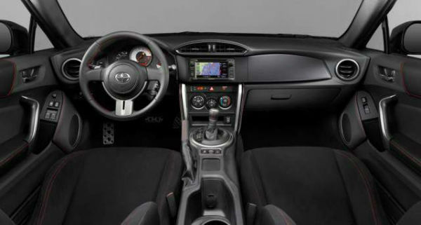 2019 Scion tC Interior