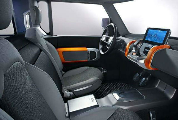 Land Rover Defender 2019 Interior