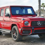 Mercedes-Benz G-Class 2019 Red