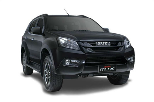 Isuzu MUX 2019 India Black
