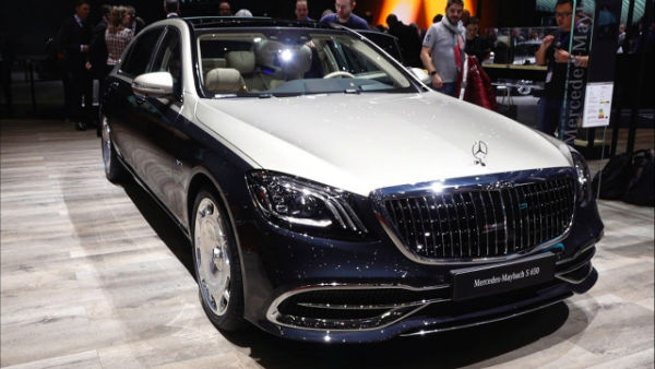 2019 Mercedes Maybach S650