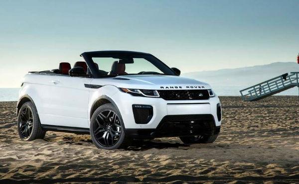 2019 Range Rover Evoque Cconvertible