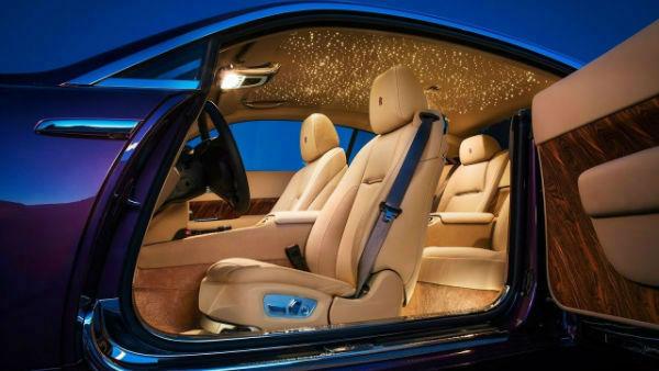 2019 Rolls-Royce Wraith Inside