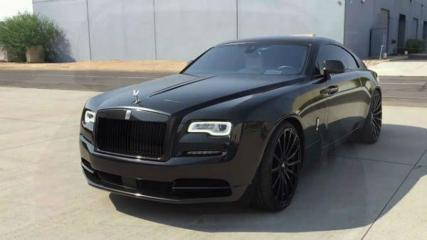 2019 Rolls-Royce Wraith Matte Black