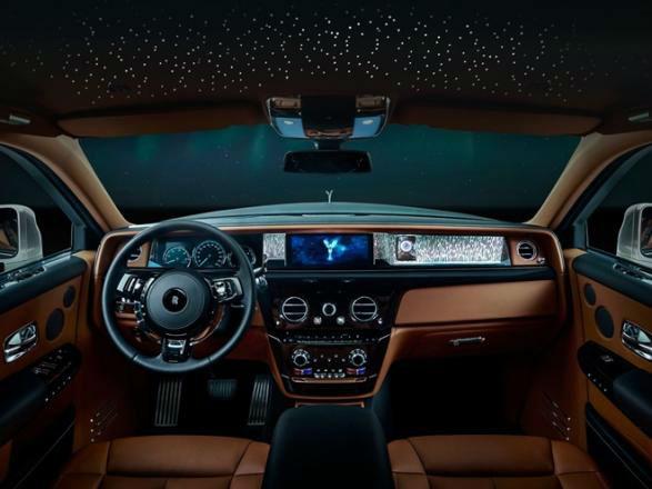 2020 Rolls Royce Phantom Interior