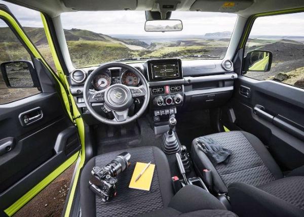 2020 Suzuki Jimny Interior