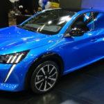 Peugeot 208 2020 Blue