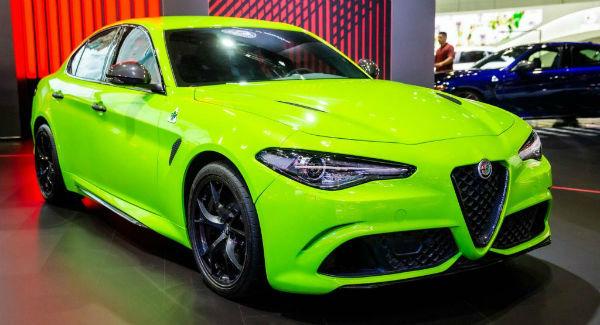 2020 Alfa Romeo Giulia Green