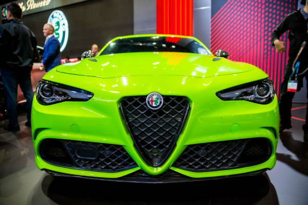 2020 Alfa Romeo Giulia Quadrifoglio Lime Green