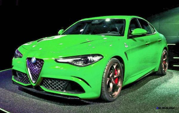 Alfa Romeo Giulia 2020 Green