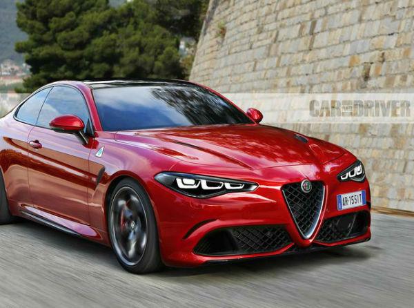 Alfa Romeo Giulia Coupe QTV 2020