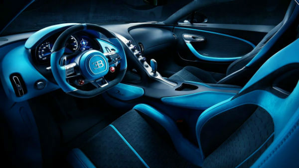 2020 Bugatti Divo Interior