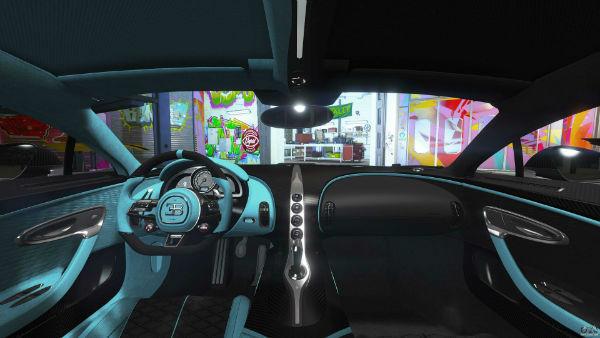 Bugatti Divo 2020 Interior