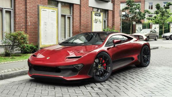 2020 Lotus Esprit Envisions