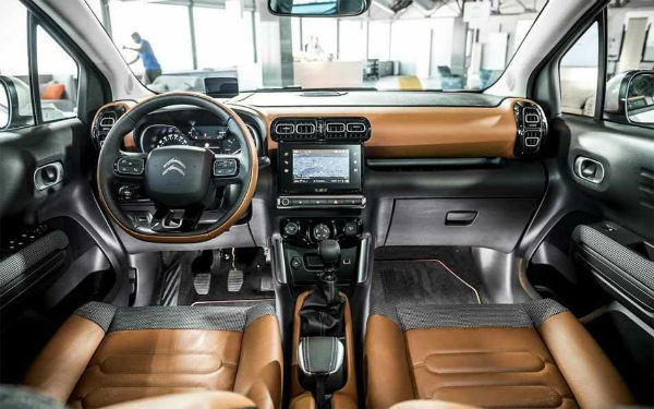 2020 Citroen C3 Aircross Interior