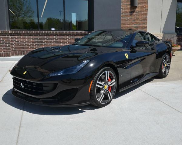 2020 Ferrari Portofino Black