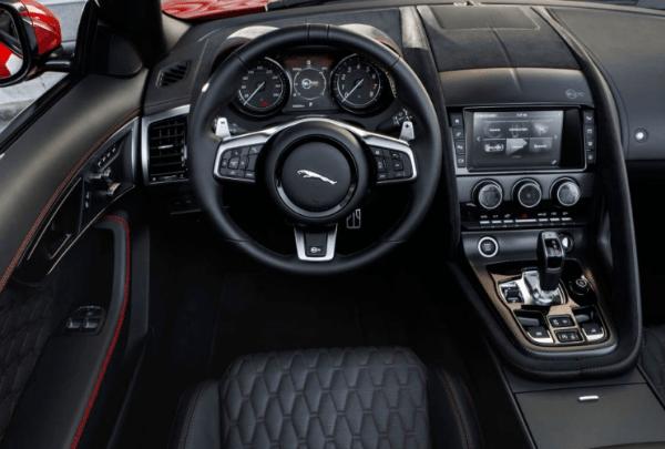 2020 Jaguar F Type Interior