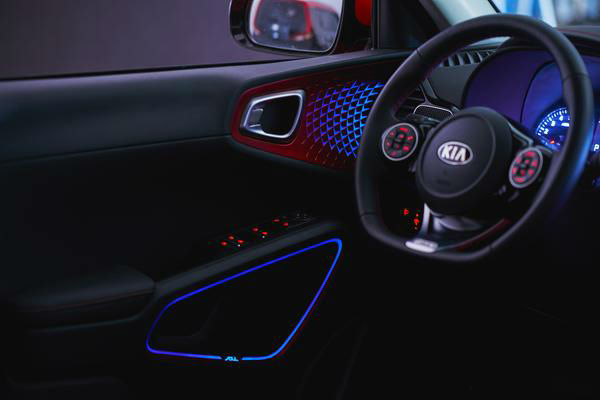 2020 Kia Soul Interior Lights