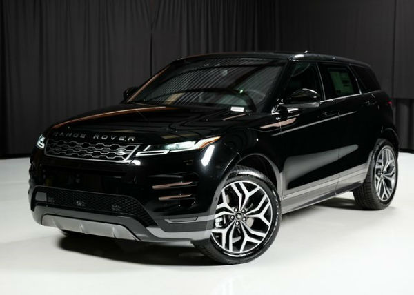 2020 Land Rover Evoque Black