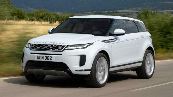 2020 Land Rover Evoque White